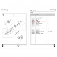 Диски сцепления (комплект) (Bajaj Boxer BM150 / BMX150)