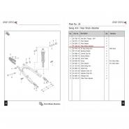 Амортизатор задний (1шт) (Bajaj Boxer BMX150)