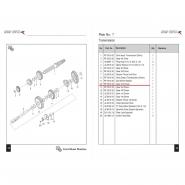 Шестерня коробки передач (1) (Bajaj Boxer BM150 / BMX150)