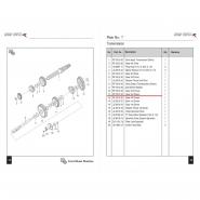 Шестерня коробки передач (2) (Bajaj Boxer BM150 / BMX150)