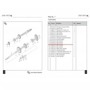 Шестерня коробки передач (3) (Bajaj Boxer BM150 / BMX150)