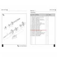 Шестерня коробки передач (4) (Bajaj Boxer BM150 / BMX150)