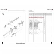 Шестерня коробки передач (7) (Bajaj Boxer BM150 / BMX150)