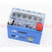 Акумулятор 4A YTX4L-BS GEL (гелевий) LEADER