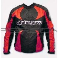 Мотокуртка ALPINESTARS (текстиль, червона)