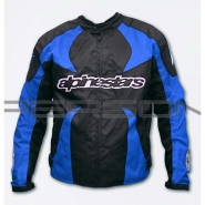 Мотокуртка ALPINESTARS (текстиль, синя)