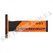 Ручки руля CROSS PG-801 (оранжеві)
