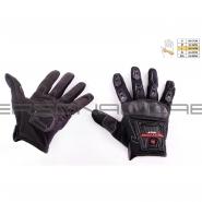 Моторукавиці SCOYCO MC-12 (текстиль, чорні)