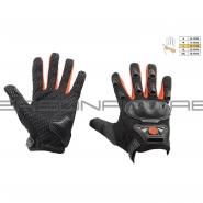 Мотоперчатки SCOYCO HD-09 (текстиль, красные)