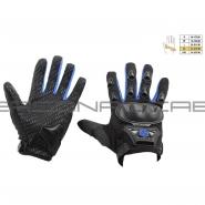Моторукавиці SCOYCO HD-09 (текстиль, сині)