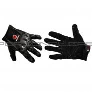 Мотоперчатки SCOYCO HD-12 (текстиль, карбон, черные)