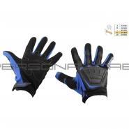 Моторукавиці SCOYCO MC-08 (текстиль, сині)