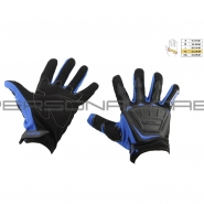 Мотоперчатки SCOYCO MC-08 (текстиль, синие)