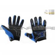 Моторукавиці SCOYCO MC-23 (текстиль, сині)