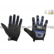 Моторукавиці SCOYCO MC-24 (текстиль, сині)