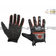 Мотоперчатки SCOYCO MC-24 (текстиль, красные)