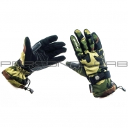 Мотоперчатки SCOYCO (камуфляж, зелено-коричневые)