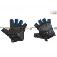 Мотоперчатки SCOYCO MC-29D (без пальцев, синие)