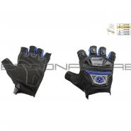 Мотоперчатки SCOYCO MC-24D (без пальцев, текстиль, синие)