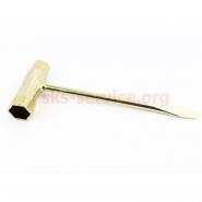 Ключ свечной для бензопилы (усиленный, 175мм)