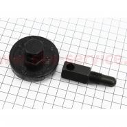 Ключ снятия сцепления (вариатора, муфты) бензопилы (с фиксатором поршня М14, к-кт 2шт)