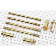 Шпильки циліндра (4шт+гайки; d8мм, 2шт-122мм, 2шт-130мм) (Viper F5 / Zubr)