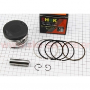 Поршневой комплект (4T 63,5мм 200cc) (палец 15мм) (тефлоновое покрытие) (Viper F5 / Zubr) (DHOK)