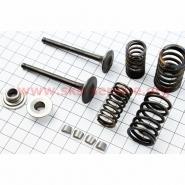 Клапани 70-125cc (повний комплект) (Viper Active, Delta, Alpha, zs50f)
