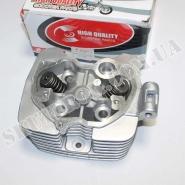 Головка цилиндра (4T 63,5мм 200cc) (Viper F5 / Zubr / CG-200) (с клапанами) (ZHENGHE)