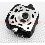 Головка цилиндра (4T 67мм 250cc) (CG-250) (с клапанами, водяное охлаждение)