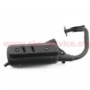 Глушитель Honda DIO AF18/24 (накладка черная) (Mototech)