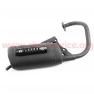 Глушитель Honda DIO AF18/24 (накладка черная)