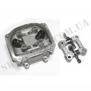 Головка цилиндра (4T 150cc) (с клапанами и пастель распредвала) (TATA)