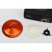 Шестерня стартера (тарелка), крыльчатка вариатора и шестерня (4T 50-100cc) (тюниг) (KIYOSHI)