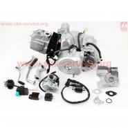 Двигун 110cc (півавтомат, з карбюратором, комутатором, катушкою запалювання, реле...) (Viper Active) (Mototech)