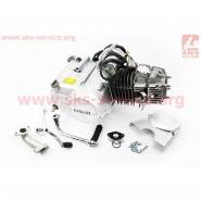 Двигатель мопедный 125cc (Active) (автомат, алюминиевый цилиндр) (СЛОН)