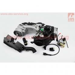 Двигатель 139QMB (4T 80cc) (длинный вариатор, длинный вал, с кабюратором...) (Mototech)
