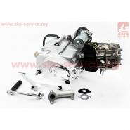 Двигатель мопедный 110cc (Delta) (механика, заводской серийный)