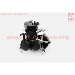 Двигатель велосипедный 2Т (с ручным стартером, комплект)