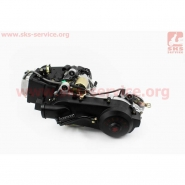 Двигатель 152QMI (4T 125cc) (короткий вариатор) (ZHENGHE)
