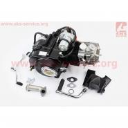 Двигатель мопедный 125cc (Active) (механика, черный) (TMMP)