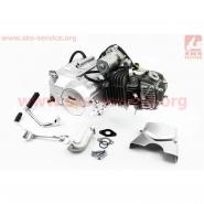 Двигатель мопедный 125cc (Delta) (механика, алюминиевый цилиндр) (TMMP)
