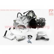 Двигатель мопедный 125cc (Delta) (автомат) (СЛОН)
