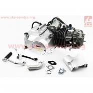 Двигатель мопедный 125cc (Delta) (автомат, алюминиевый цилиндр) (TMMP)