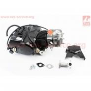 Двигатель мопедный 110cc (ПИТБАЙК) (автомат, стартер под нижнее крепление)