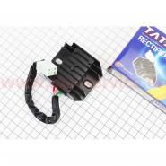 Регулятор напряжения (Viper zs125j / zs150j) (4 провода) (TATA)