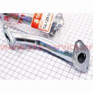 Патрубок карбюратора (метал.) d=18mm, h=175mm (Viper Delta) (TATA)