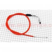 Трос газа (Viper Active) (трос 86см; кожух 76см, красный) (TMMP)