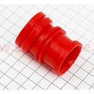 Патрубок воздушного фильтра (Viper Delta) (силиконовый, длинный)