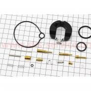 Ремкомплект карбюратора Honda DIO50 (17 деталей и поплавок) (Scorpion)
